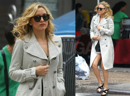 Pictures of Kate Hudson Filming Something Borrowed in NYC