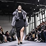"""""""That's something I've always been told: 'You're not good enough because you're plus-size.'I'm not here to ban the word from the dictionary"""" [but Ashley] prefers curvy or curve (used in a sentence: A record 26 curve models walked in New York Fashion Week last season, including Graham in Michael Kors's show). — The Cut"""
