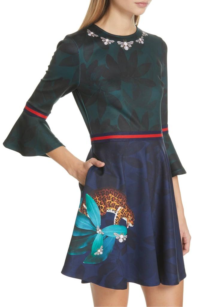 Ted Baker London Emileen Floral Minidress