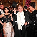 Kim Kardashian With Richard Lugner at the Vienna Ball 2014