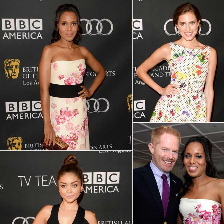 Kerry Washington Joins Her Fellow Emmy Nominees For Tea