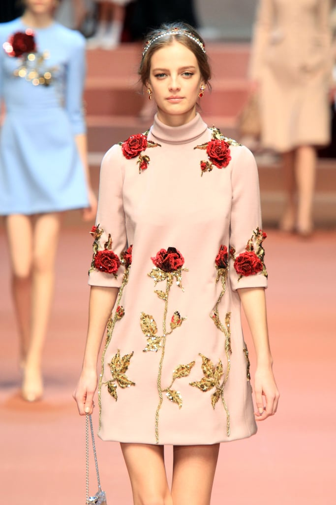 Floral Applique Trend Fall 2015