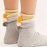 Nat Pom Pom Crew Socks