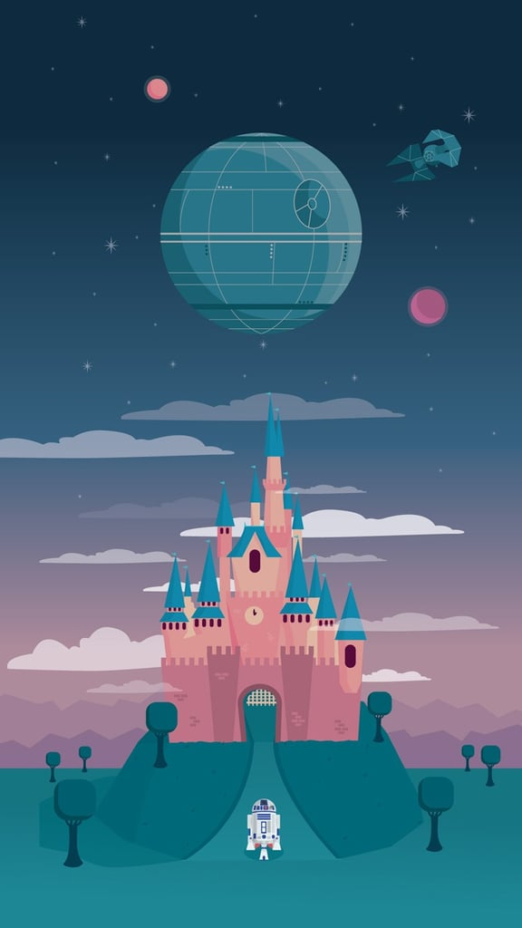 Disney and the Death Star Wallpaper