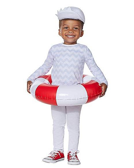 Toddler Blue Baby Shark Costume Kit With Sound Chip