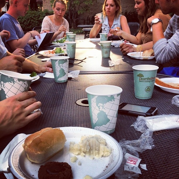 Outdoor Business Lunch