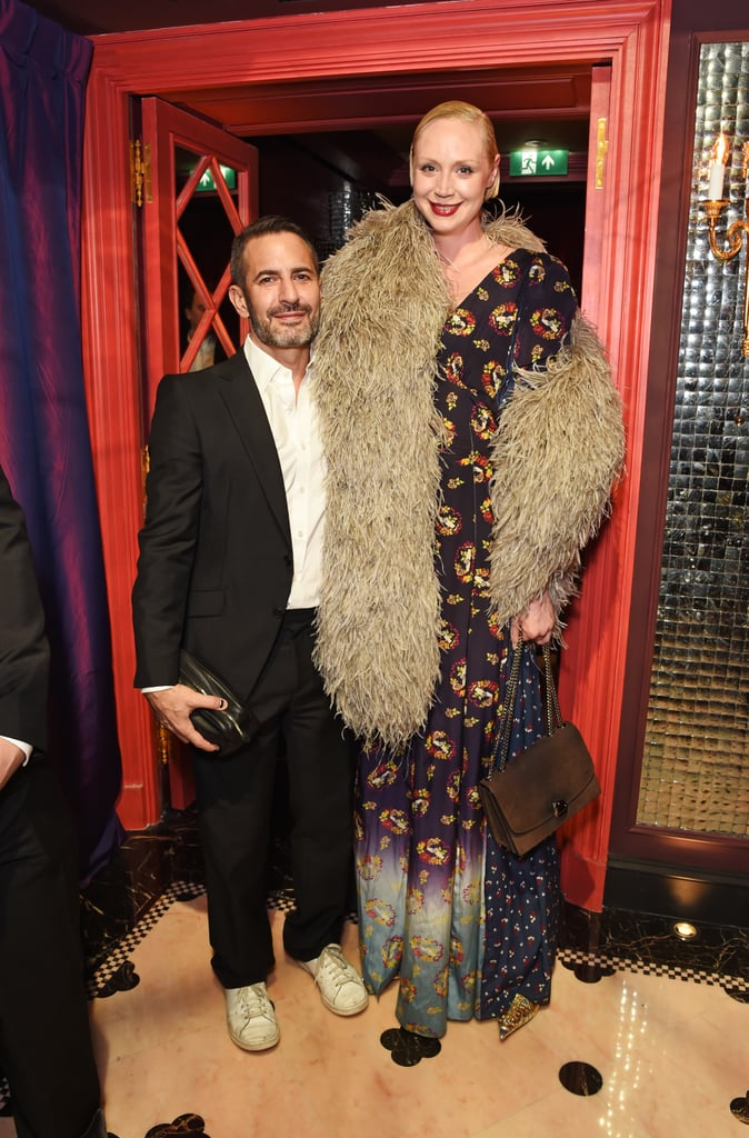Marc Jacobs and Gwendoline Christie