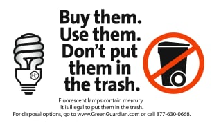 How to Safely Dispose of Compact Fluorescent Lights or CFLs