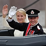 Prince Haakon and Mette-Marit Tjessem Hoiby