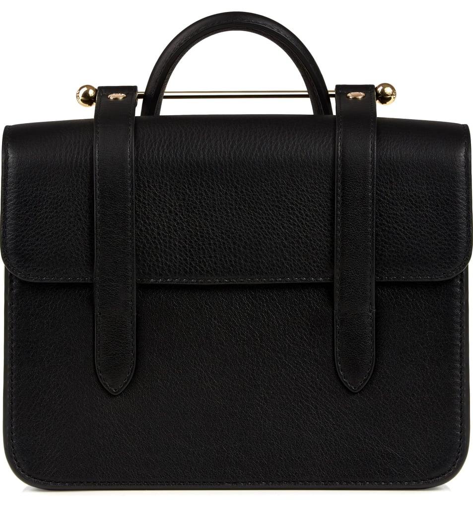 Strathberry MC Mini Leather Crossbody Bag