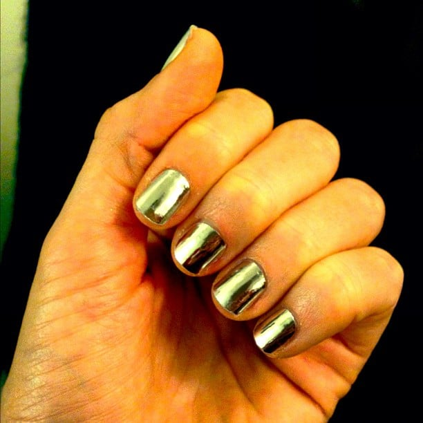 Stacy Keibler showed off her AMA manicure. Source: Instagram user stacykeibler