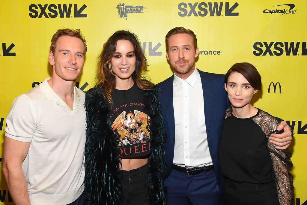 Proof that Ryan Gosling and Michael Fassbender can be in the same room without the universe imploding.