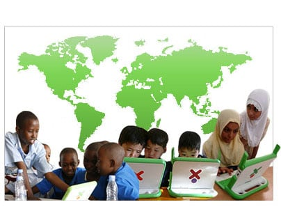 Website lil Loves: One Laptop Per Child