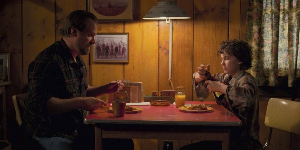 Eleven and Hopper's Relationship on Stranger Things