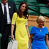 The Victoria Beckham 'Quincy' at Wimbledon this year.