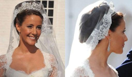 Miss Marie Cavallier Wedding Hair