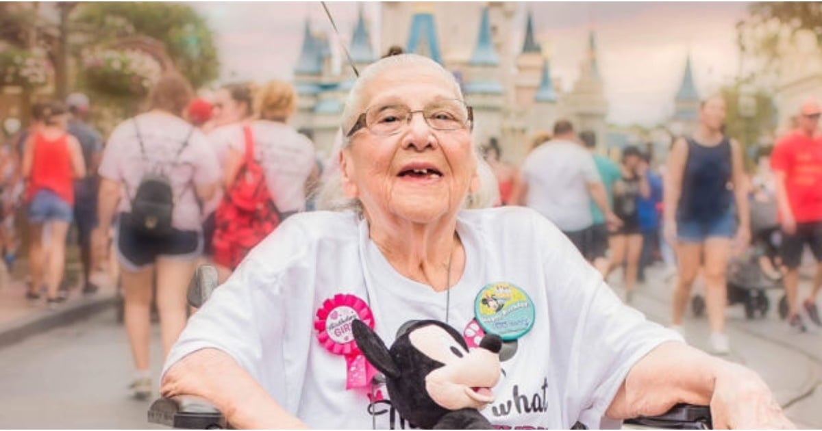 World's Cutest Grandma Turns 100 Years Old and Heads Straight to Disney World