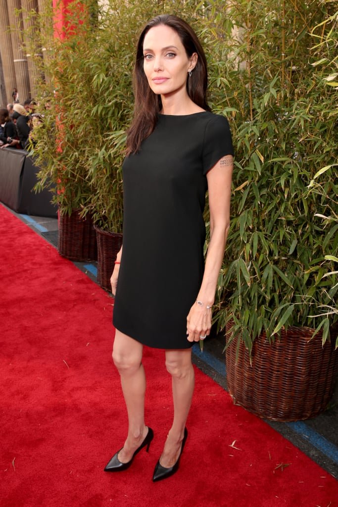 You've Never Seen Angelina Jolie in a Dress Like This Before