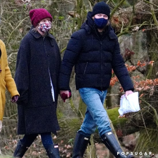 Taylor Swift and Joe Alwyn Wear Hunter Boots in London
