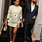 Solange Knowles and Alan Ferguson hit the afterparty for the NYC premiere of Blue Jasmine on Monday.