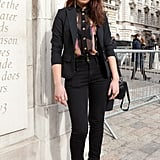 London Fashion Week Street Style Fall 2012