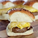 Sausage, Egg, and Cheese Breakfast Slider