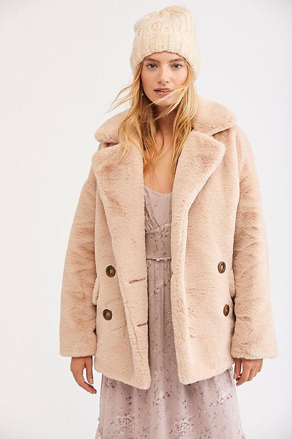 c92d39bfa62c Solid Kate Faux Fur Coat