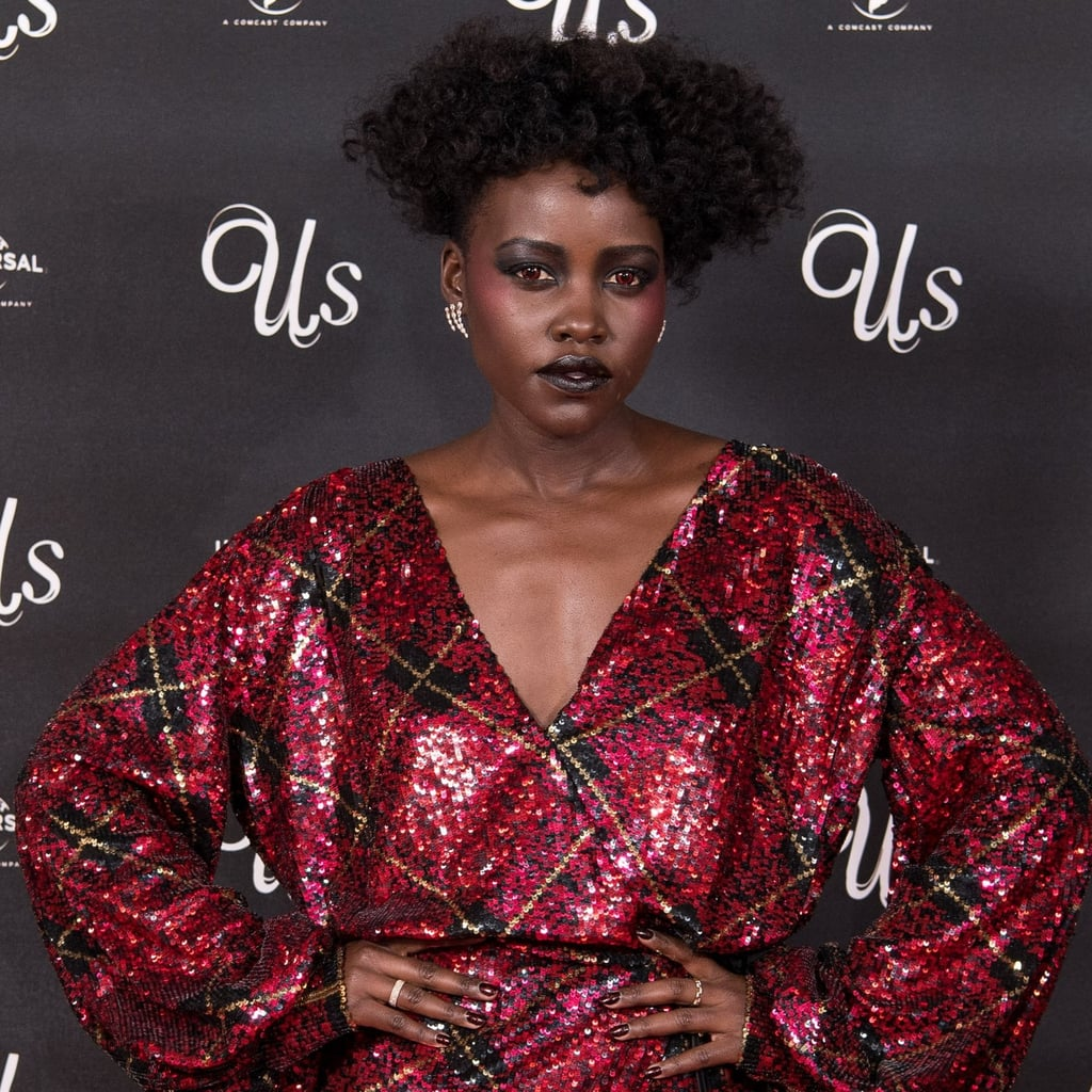Lupita Nyong'o Makeup at Us London Screening