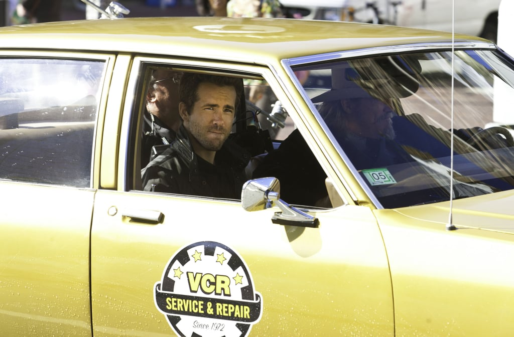 Ryan Reynolds on the R.I.P.D. set in Boston.