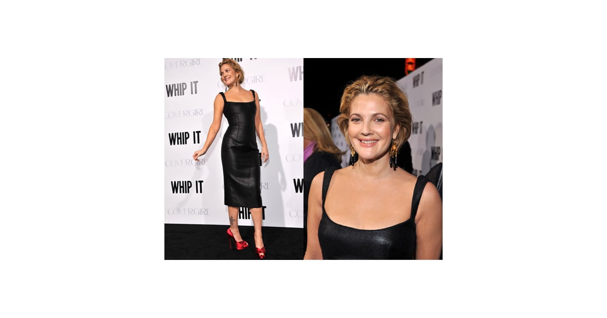 Photos Of Drew Barrymore At Whip It Premiere In Long Body