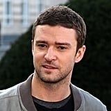 Justin Timberlake arrived for a photocall.