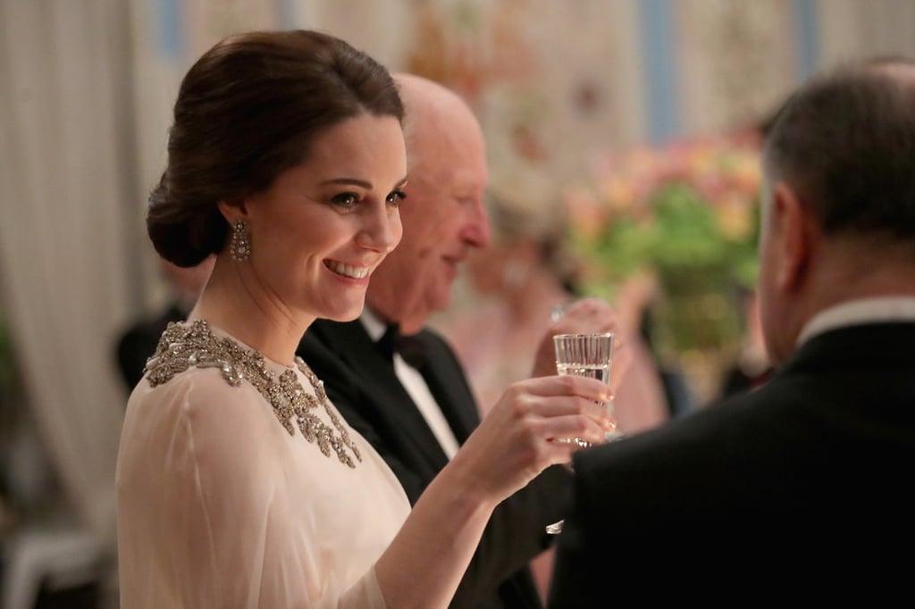 Kate Middleton's Elegant Chignon, 2018