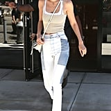 Gigi Hadid Wearing Her Top Like It's 2005 Will Give You Life