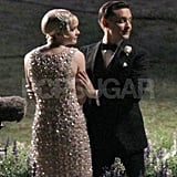 Tobey Maguire held Carey Mulligan while filming The Great Gatsby.