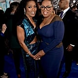 Pictured: Angela Bassett and Oprah Winfrey