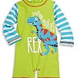 Dinosaur Printed Rash Guard Romper