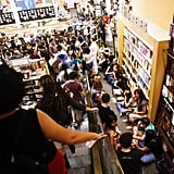 When Fans Packed This Barnes & Noble in New York to Grab Harry Potter and the Deathly Hallows