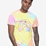 Lisa Frank x SpongeBob Guys Rainbow Tie-Dye Tee ($25)