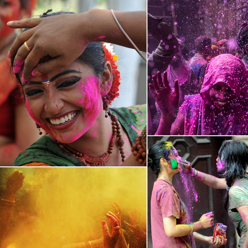 Holi Festival Celebrates Spring With Color