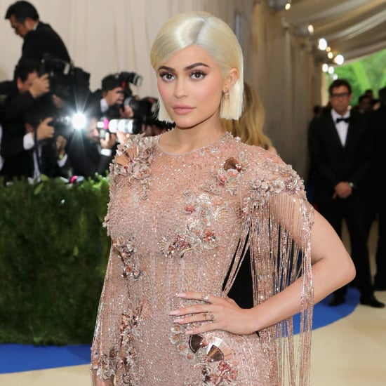 Kylie Jenner Met Gala Dress Pictures 2017
