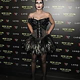 Padma Lakshmi as The Black Swan