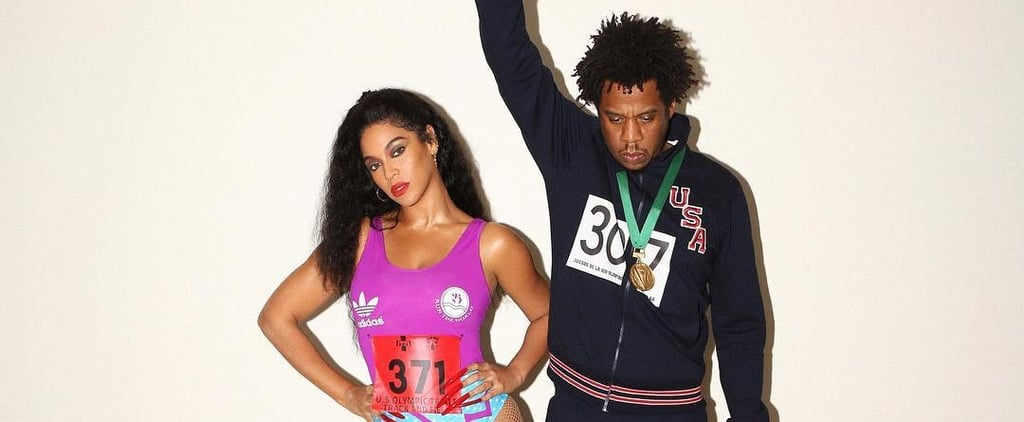 Beyoncé and JAY-Z Flo-Jo and Tommie Smith Halloween Costumes