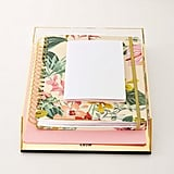 Flash Gold Acrylic Stacking Filing Tray