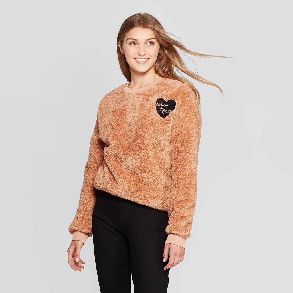 Warm & Cozy Graphic Sweatshirt