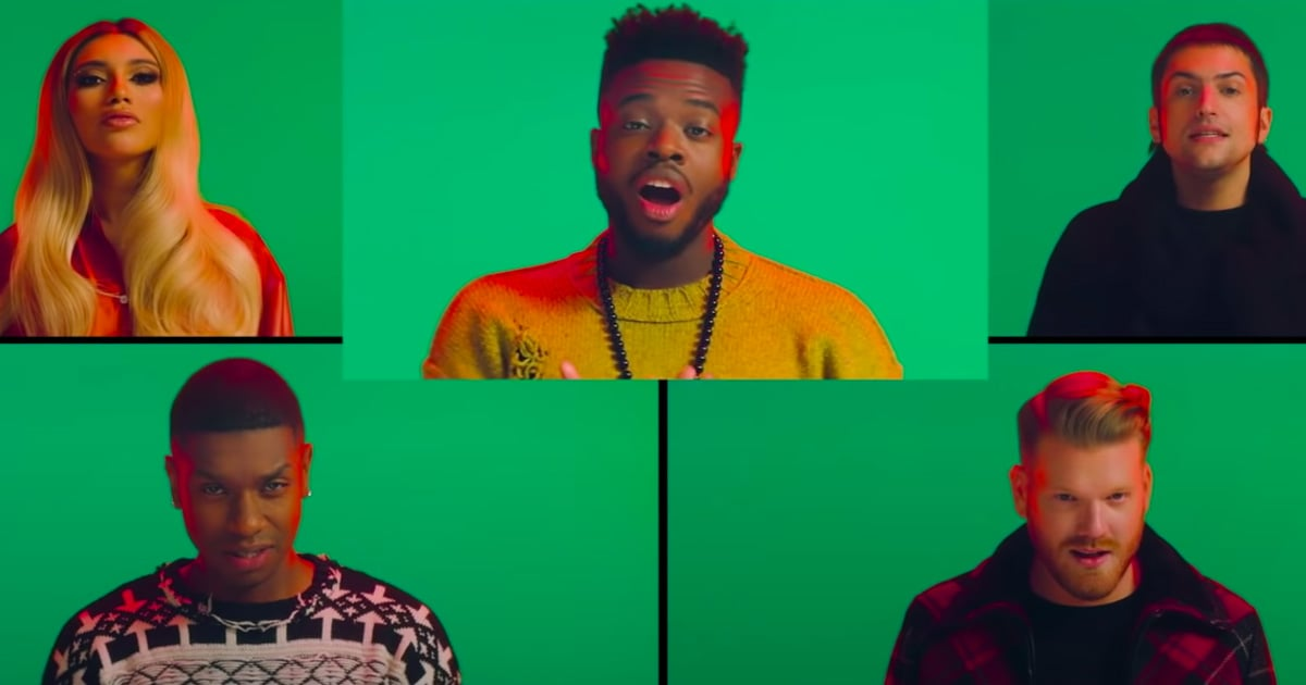 "Watch Pentatonix's ""12 Days of Christmas"" Cover Music Video   POPSUGAR Entertainment"