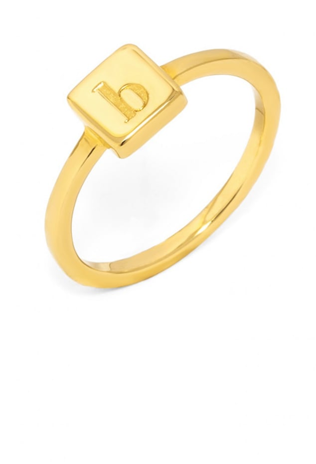 BaubleBar Square Ring