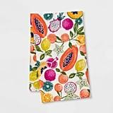 Opalhouse Cotton Fruit Flat Weave Kitchen Towel