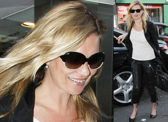 Photos of Kate Moss Out in London at TopShop Offices