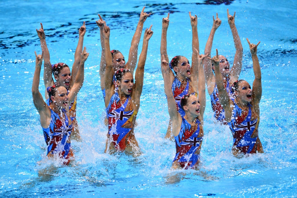 AC/DC Synchronized Swimming Routine
