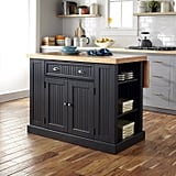 Nantucket Solid-Wood Top Kitchen Island